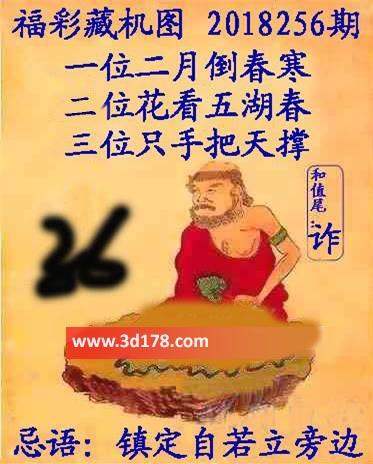 3d第2018256期正版藏机图推荐忌语:镇定自若立旁边