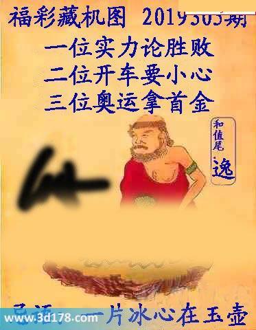 3d第2019305期正版藏机图推荐一位:实力论胜败