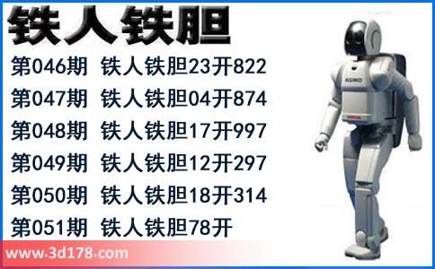 3d铁人铁胆第2020051期推荐:双胆78