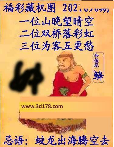 3d第2021090期正版藏机图推荐和尾:鳞